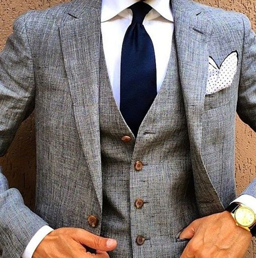 Three Piece Suits Are Your Best Purchase